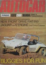Autocar magazine 15/4/1971 featuring Marcos 3-litre road test, BMW Alpina