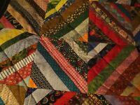 Vintage Quilt 43 x 43 Lap Baby Crib Excellent!!!
