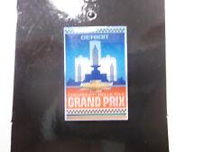 Detroit Chevrolet Belle Isle Grand Prix collectible pin Indycar