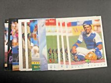 15x Mike Piazza 1992 1993 Classic Flair Wave Ultra Topps All Rookie Lot Dodgers