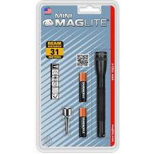 Mini MAGLITE 2 Linterna Antorcha Batería AAA (Negro)
