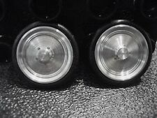 Scale Repro's Plus 8004 1/24,1/25 Scale Top Fuel Front Wheels-0 Hole Cluster