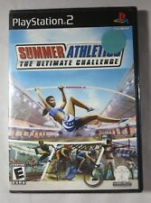 Summer Athletics for Playstation 2 Brand New! Factory Sealed!