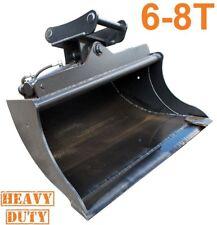 Heavy Duty Hydraulic Tilt Bucket (2 cyl) for 6 - 8 Tonne Excavator Digger