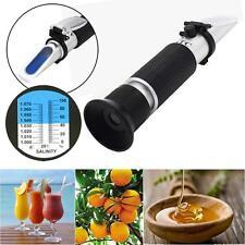 0~32% Brix Wort Specific Gravity Refractometer Beer Fruit Juice Wine Sugar Test