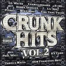 1 CENT CD VA - Crunk Hits, Vol. 2 [PA] lil wayne, e-40, pitbull