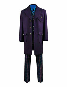 Doctor Who Cosplay Costume Men Outfit Full Set@
