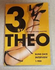 3 by Theo: The Theo Van Gogh Collection (DVD, 3-Disc Set) RARE OOP! Free S&H!