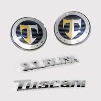 Front hood tailgate 2.7 Elisa Tuscani emblem 4pcs for 2007 2008 Hyundai Tiburon