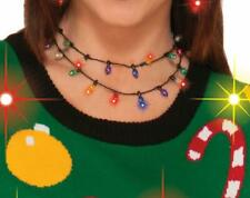Women's Light-Up Christmas Necklace