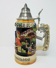 Oktoberfest Stein Austria Limited Edition #161 Original King Number 4889 11 in.