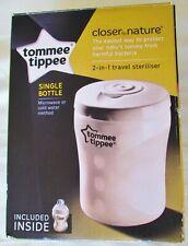 Tommee Tippee Closer to Nature Unique bouteille micro-ondes Stérilisateur BPA Free Entièrement neuf dans sa boîte