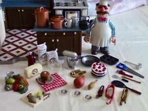 Swidesh Chef Muppets Kitchen - 2003 Palisades Playset - The Muppet Show 25 Years
