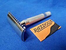 Razdoux French Gillette type old - Double Edge vintage - Rasoir de sûreté ancien