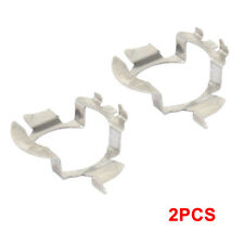 2pcs H7 LED Headlight Bulb Retainers Holder Adapter For BMW Audi Benz VW Buick