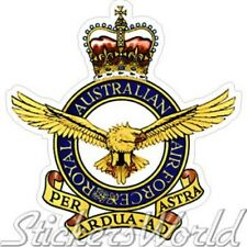 AUSTRALIEN Luftwaffe Abzeichen AUSTRALISCHE Vinyl Sticker Aufkleber