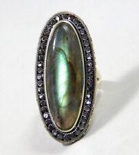 Labradorite Gemstone Ring solid 925 sterling silver 10.47 gm free shipping