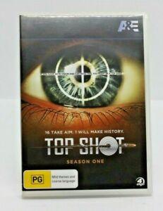 Top shot Season 1 DVD Free post