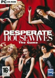Desperate Housewives The Game - PC Life Simulation Game (Disc in Sleeve)