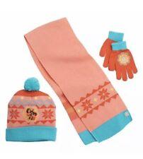 Disney Elena Of Avalor  Winter Hat Glove Scarf 3 Piece Set NWT
