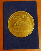 1969-2009 Medallion Apollo 40 Years Space Program Nickel Design Commemorative