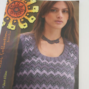 Knitting pattern book - The Mirasol collection book one by Jane Ellison