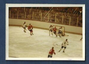 Chicago Blackhawk original photo / Bobby Hull / Blackhawks vs Blues / 1970's