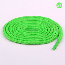 Unisex Rope Multi Color Waxed Round Cord Dress Shoe Laces Colourful Shoelace HOT