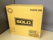 Case of 1000 Solo 662Ts Clear Plastic Cup Lid for N20 Rtn20 Rtp12 Rtp9 Ps12 More