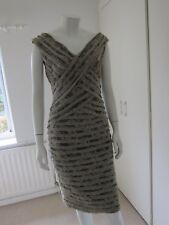 Mint Velvet Dress Stone Lace Bandage Layer Lace Size 12 RRP £119.00