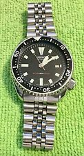 Seiko Divers Watch 7002-700A –A1 Automatic serial # 112617