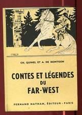 CONTES ET LEGENDES DU FAR-WEST. NATHAN. 1960.