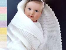 Handmade Knitted Nursery Blankets & Throws