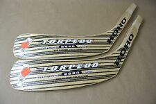 Lot of 2 KOHO Torpedo Hickory Hosel 2220 Jagr Stick Replacement Blades JR LEFT