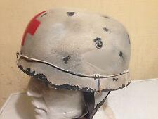German Replica Paratrooper Medic Helmet