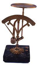 French Antique Marble Ormolu Brass Desktop Letter Postal Balance Pendulum Scale