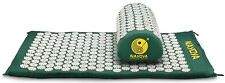 Nayoya Back and Neck Pain Relief Acupressure Mat Pillow Set Relieves Stress Pain