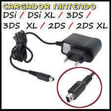 CARGADOR PARA NINTENDO DSi / DSi XL / 3DS / 3DS XL / 2DS / 2DS XL DE PARED RED