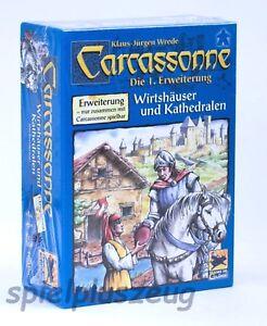 Carcassonne 1. Erweiterung Wirtshäuser und Kathedralen Hans im Glück NEU