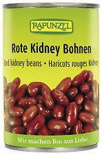 Bio Rote Kidney Bohnen, 400 g NEU & OVP von Rapunzel