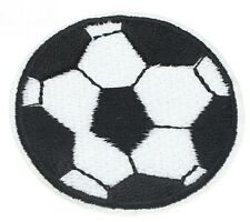 Iron On Patch Embroidered Badge- Soccer Ball