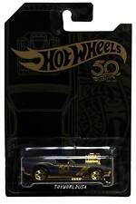 2018 Hot Wheels 50th Anniversary Black and Gold #3 Rodger Dodger