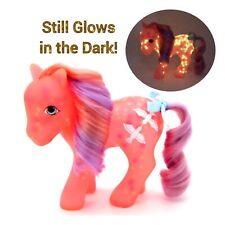 ⭐️ My Little Pony ⭐️ G1 Vintage Glow N Show Coral Brightglow (Please Read Desc)