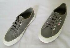 Unisex Sz 5 Men 6.5 Women Grey Sage M38 Superga 2750 Cotu Cotton Canvas Shoes