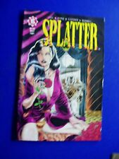 Splatter 1 horror (Northstar 1991).  Tim Vigil. VFN