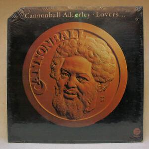 Cannoball Adderley Lovers LP New Sealed Fantasy F-9505 Released 1976 Corner Cut
