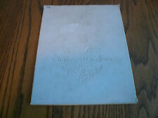 BRASS CADILLAC CHALLENGE OF EXCELLENCE PLAQUE IN SLEEVE Theodore Roosevelt