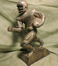 """New Large 10"""" Football Player Trophy Plastic Plus 50600-G"""