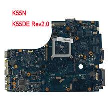 For Asus K55N Laptop Motherboard K55DE Rev2.0 60-NAMMB1000 Integrated Mainboard
