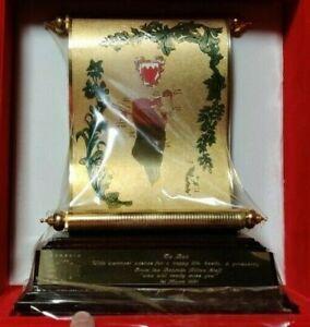 BAHRAIN HILTON Hotel Staff Appreciation Trophy In Felt Box March 1st 1991